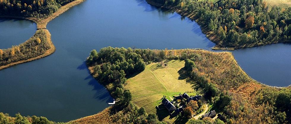 Podlasie i Suwalszczyzna - wypoczynek nad jeziorem.