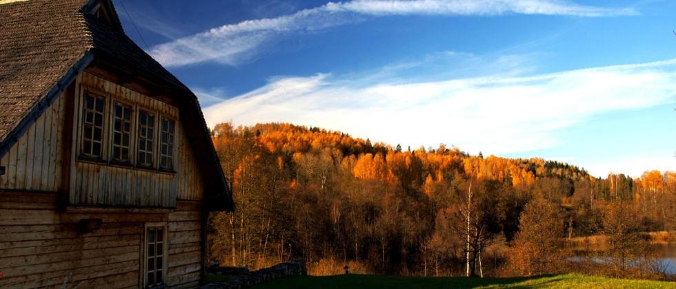 Pokoje nad jeziorem, Suwalszczyzna, Podlasie